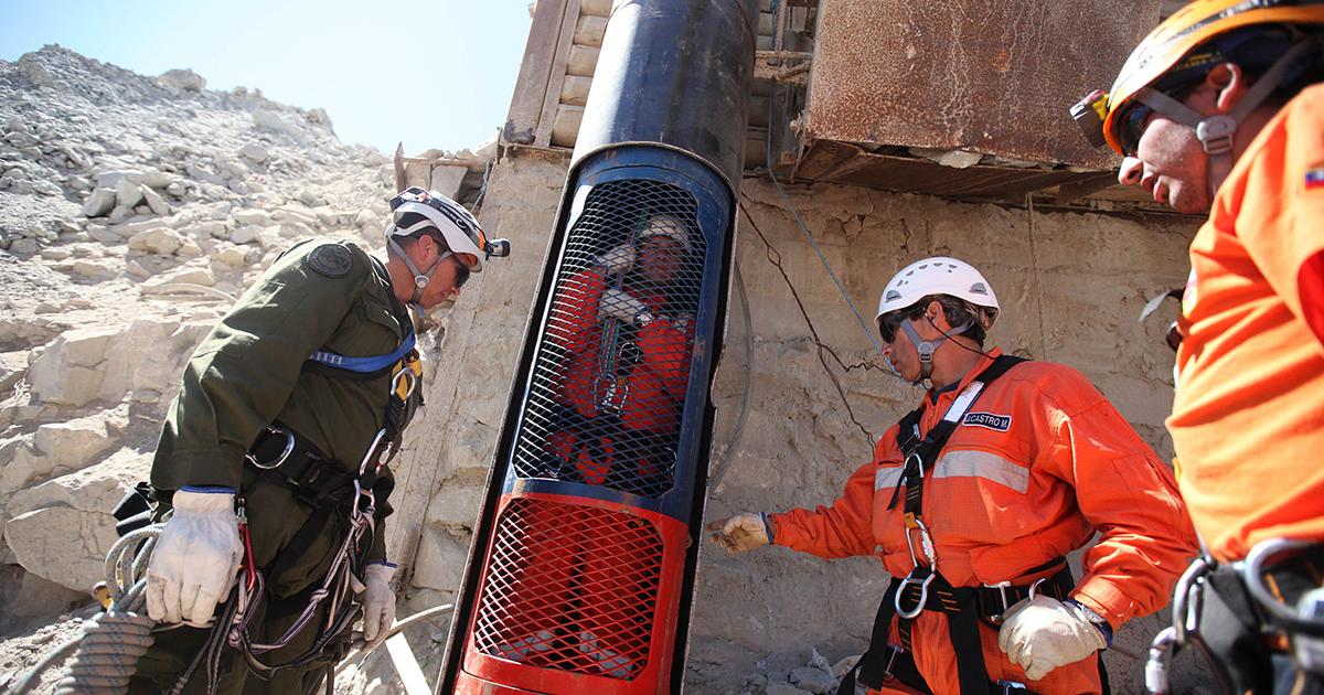 Chilean San Jose Mine Rescue