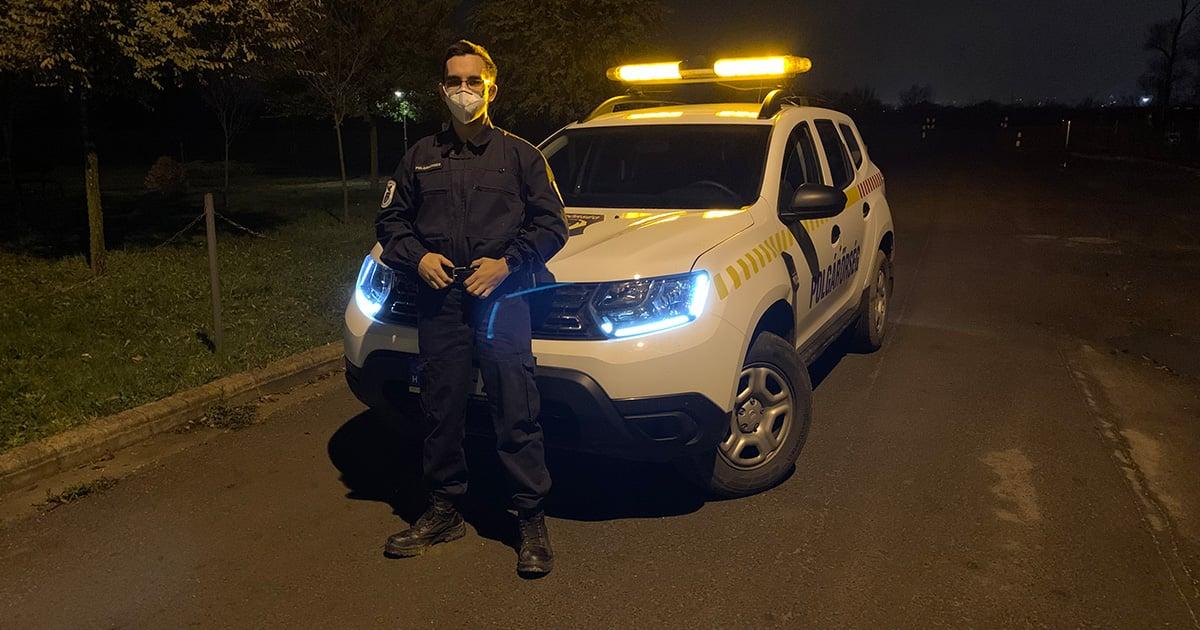 Hungarian Auxiliary Police Member John Plósz