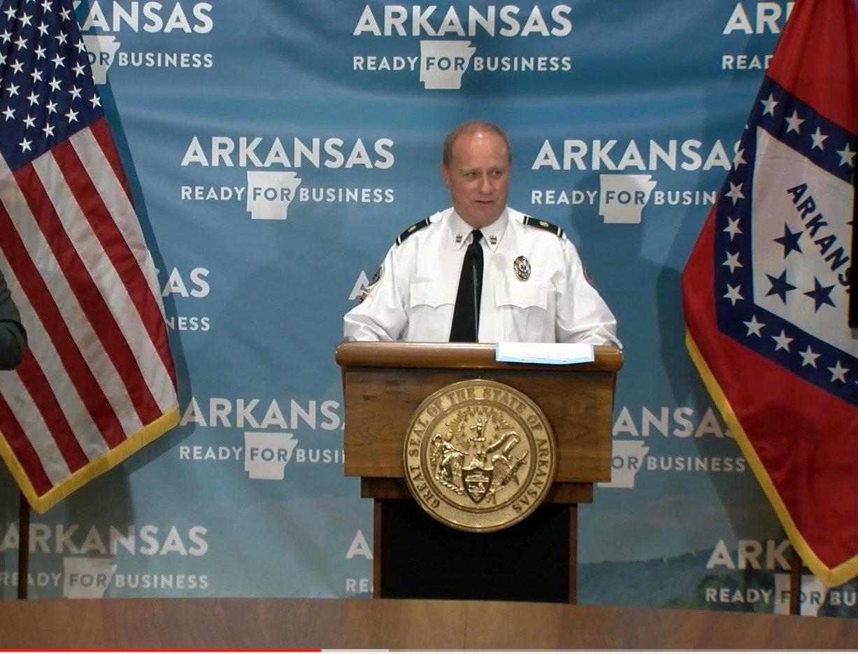 Ken Kelley at podium