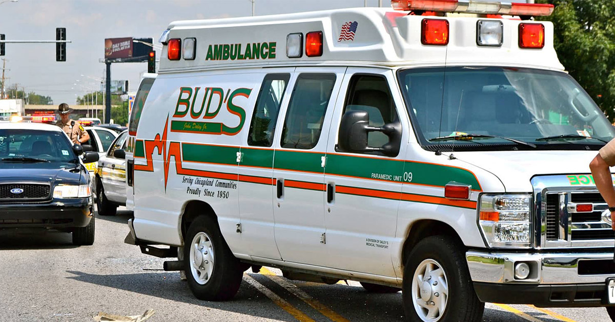 Bud's ambulance in Chicago