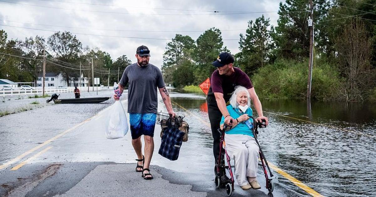 Crowdsource Rescue in a Hurricane
