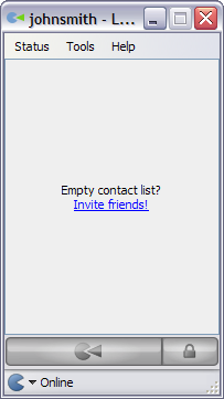 Empty contacts